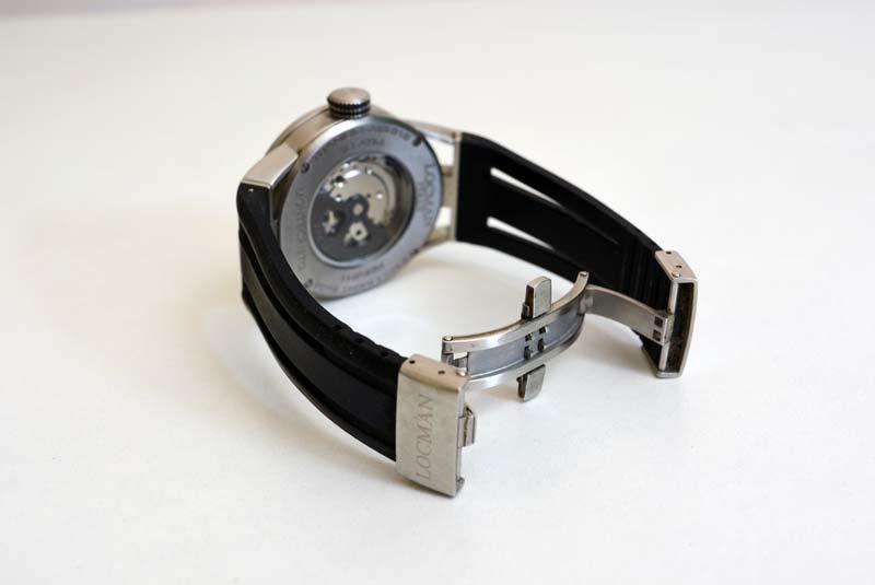 orologio locman montecristo automatico Ref 511 con cinturino ipoallergenico