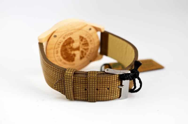 cinturino in fibra di legno Green Time Vegan ZW010E