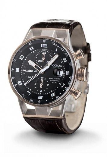 montecristo automatico con cronografo Ref. 0516M01S-00BKWHPK