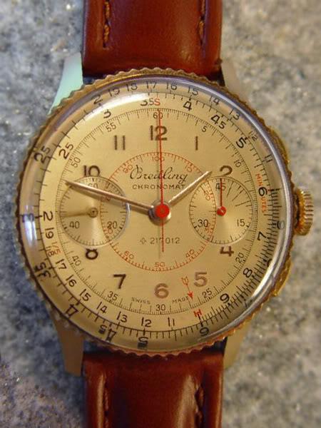 1946 Chronomat ref 769 a 18 carati