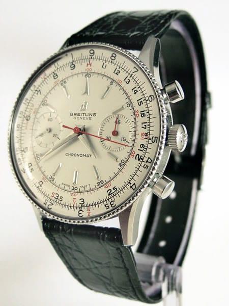 Questo ref Chronomat 808 acquistata nel 1967 ha una lunetta in rilievo come quello della AOPA pubblicità.