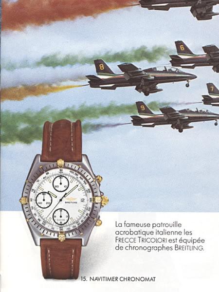 Il Navitimer Chronomat nel catalogo dell'86.