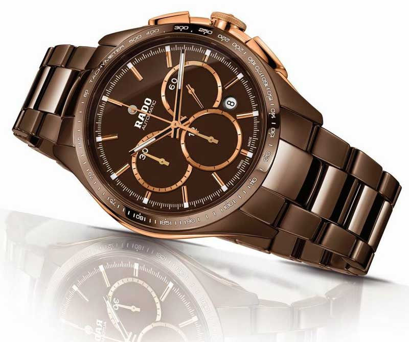 HyperChrome Automatic Chronograph Limited Edition choccolate color