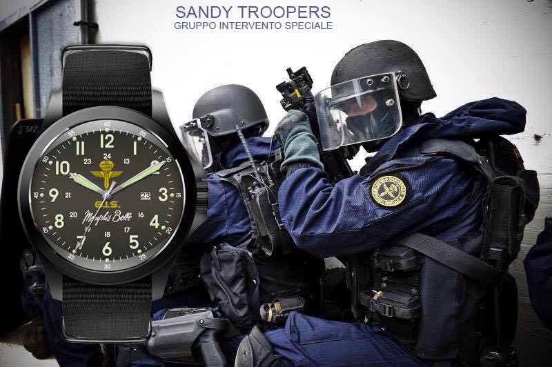 orologi forze armante Memphis Belle Sandy Troopers
