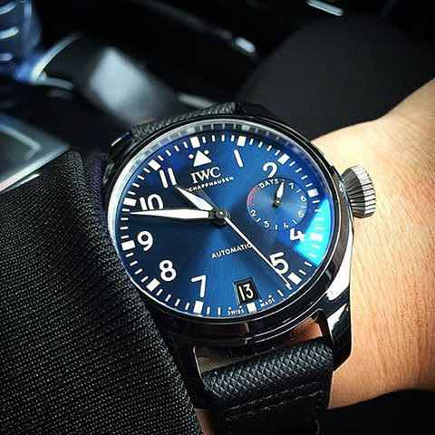 "IWC Big Pilot's ""Boutique Rodeo Drive"""
