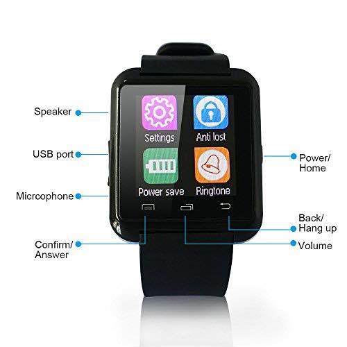 smartwatch u8 istruzioni