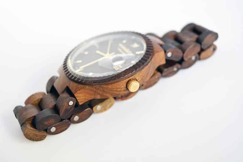 corona orologio WoodStar Milano Juma