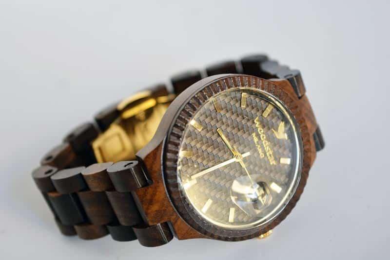orologio in legno WoodStar Milano Juma