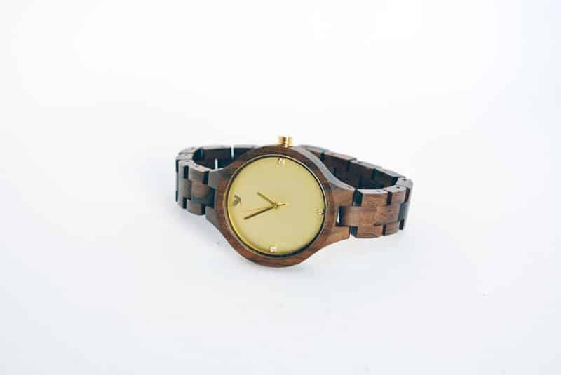 orologio da polso in legno woodstar milano matis