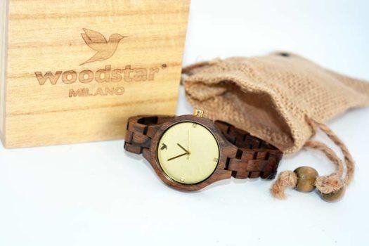 Woodstar Milano Matis – L'orologio in legno da donna