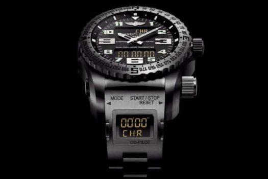 Breitling Emergency: il primo orologio con localizzatore.