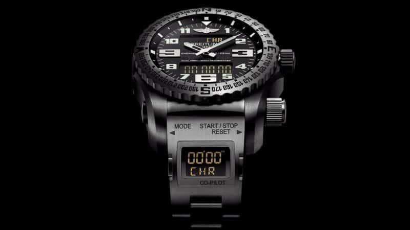 Orologio Breitling Emergency: il primo orologio con localizzatore