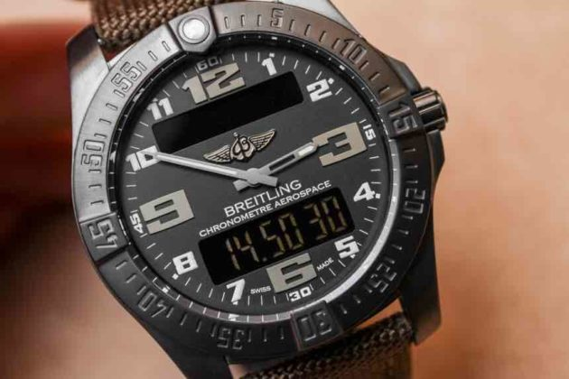 Breitling Aerospace evo quadrante in titanio