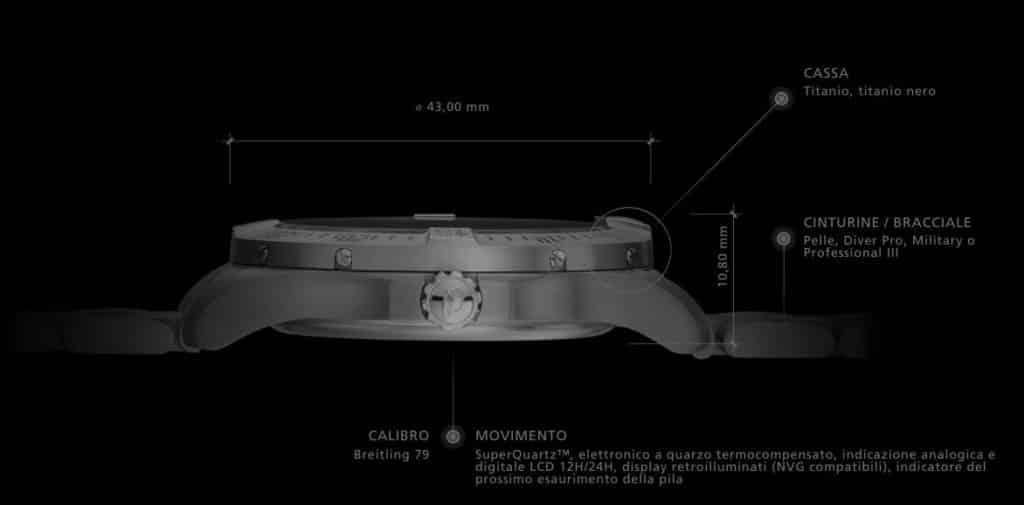 caratteristiche Breitling Aerospace evo