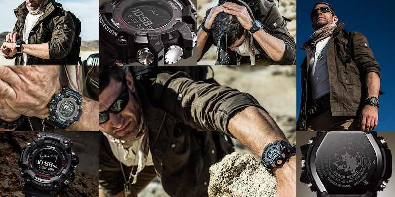 g shock rangeman GPR-B1000 con  GPS e Bluetooth