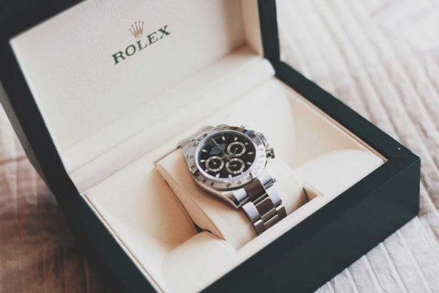 box rolex 116520