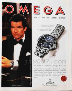 Omega 007 dedicato all'agente James Bond nel film GoldenEye