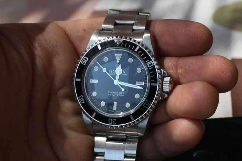 Orologio Rolex 5513 del 1989