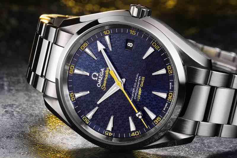 Omega Seamaster Aqua Terra 150m Master Co-Axial con quadrante in PVD blu
