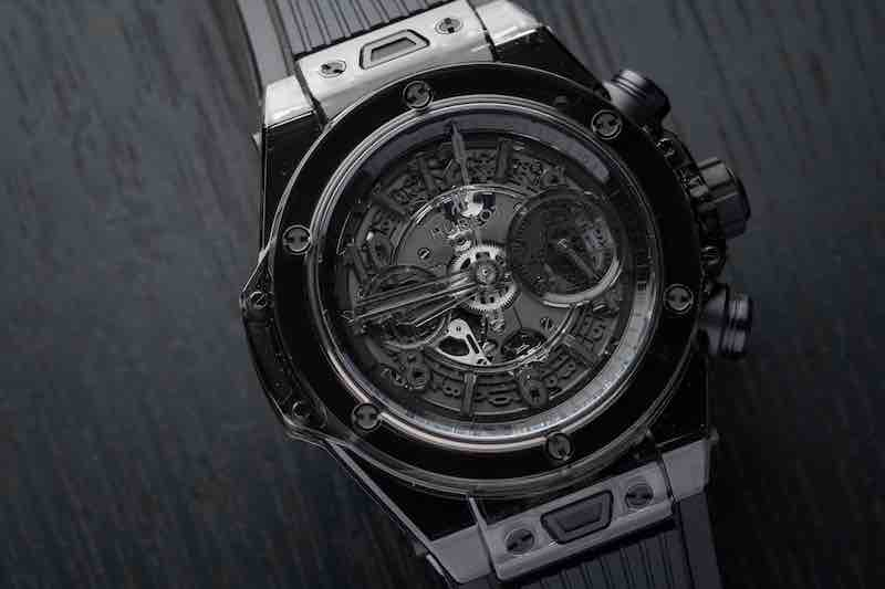 orologio Hublot Big Bang Unico All Black Sapphire 45mm