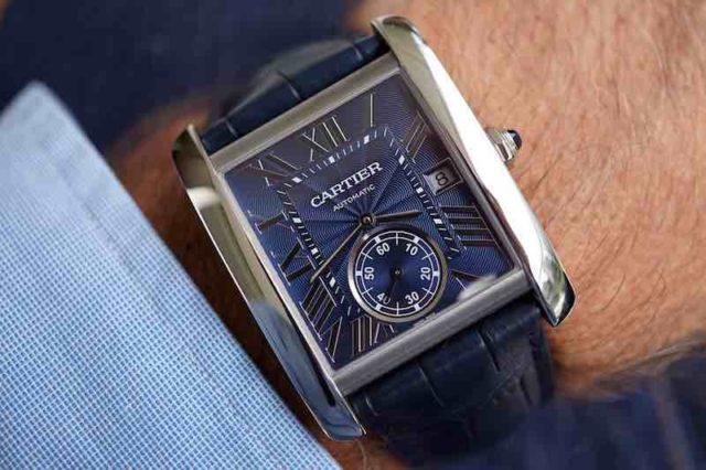orologio di lusso Cartier Tank