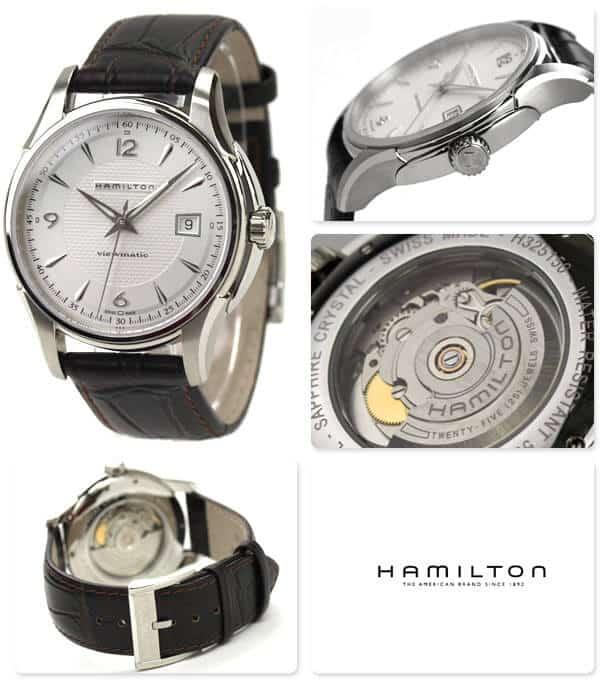Hamilton Jazzmaster viewmatic auto con Ref. H32515555.