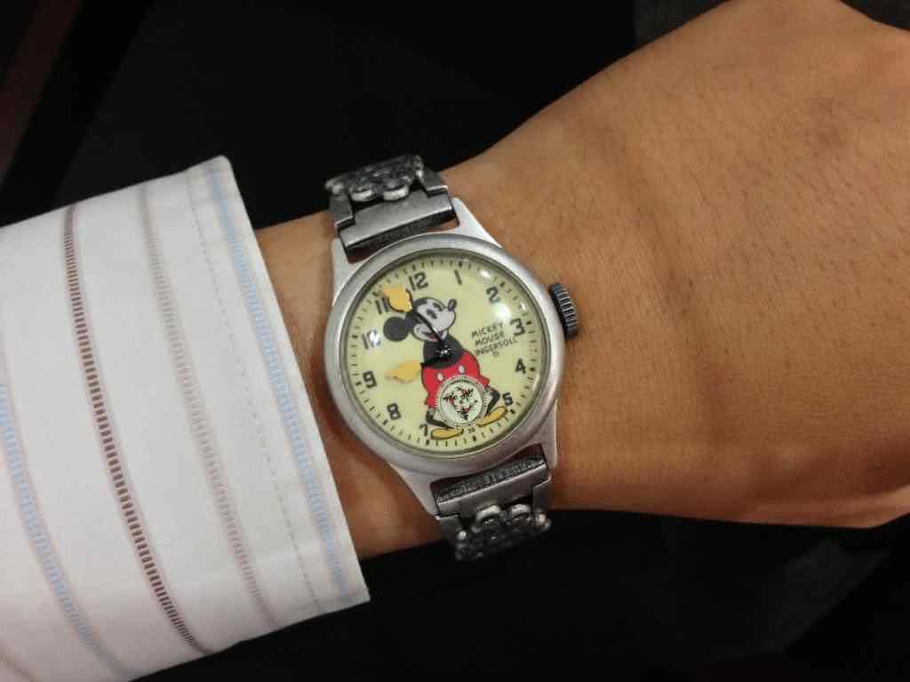 orologio Ingersoll di Topolino