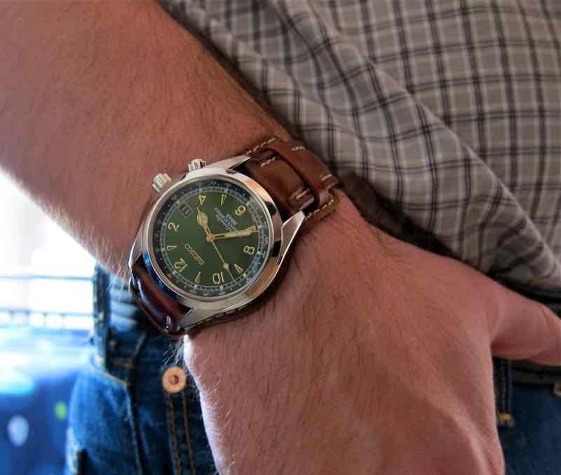 orologio automatico Seiko Alpinist SARB017