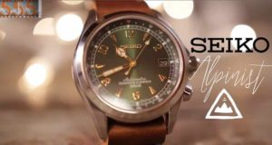 Recensione dell'orologio Seiko Alpinist