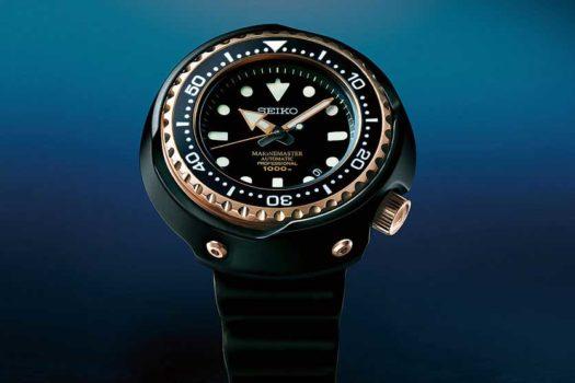 Seiko Marinemaster: i due nuovi modelli della collezione subacquea