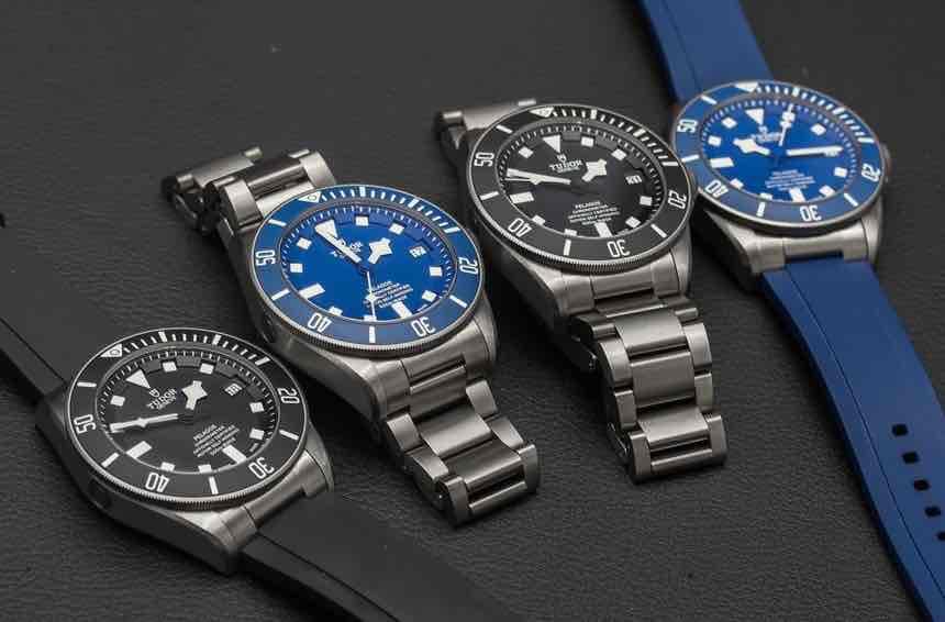 Modelli Tudor Pelagos Black e Blue