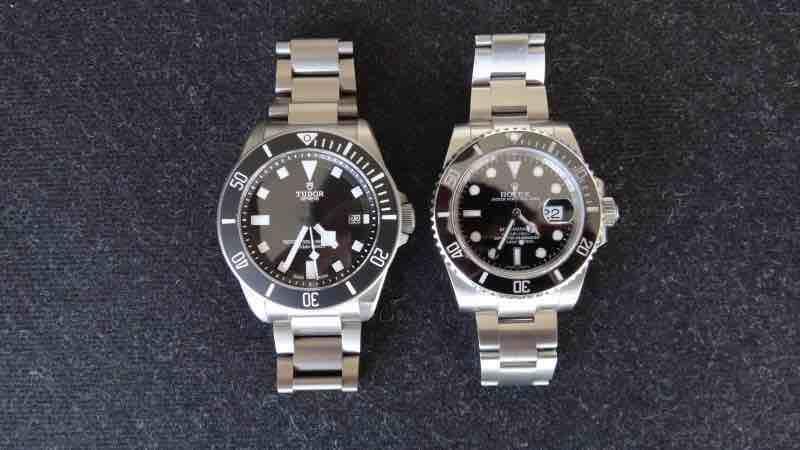Sfida tra Rolex Submariner vs Tudor Pelagos