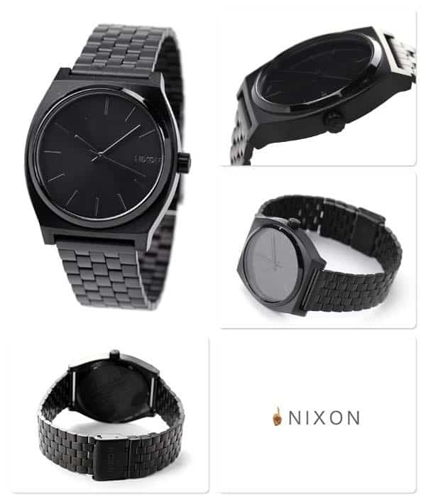 black watch Nixon the time Teller