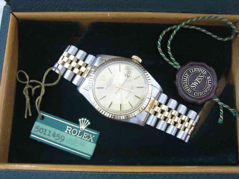 Rolex Datejust 1601 del 1977