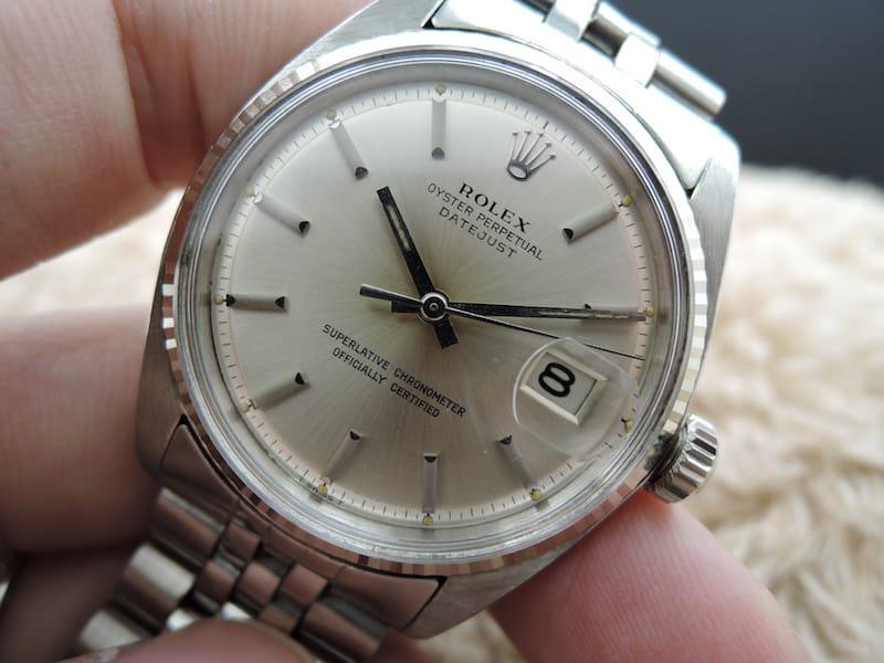 Rolex DATEJUST 1601 del 1964 in oro bianco
