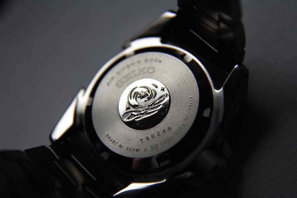 fondello e cassa dell'orologio Seiko Samurai