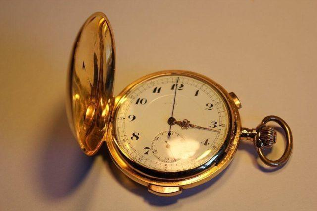 informazioni e dettagli degli orologi da tasca oro 18k