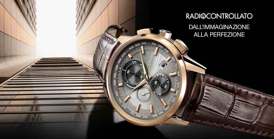 Orologio Citizen Radiocontrollato H804 AT8113-12H