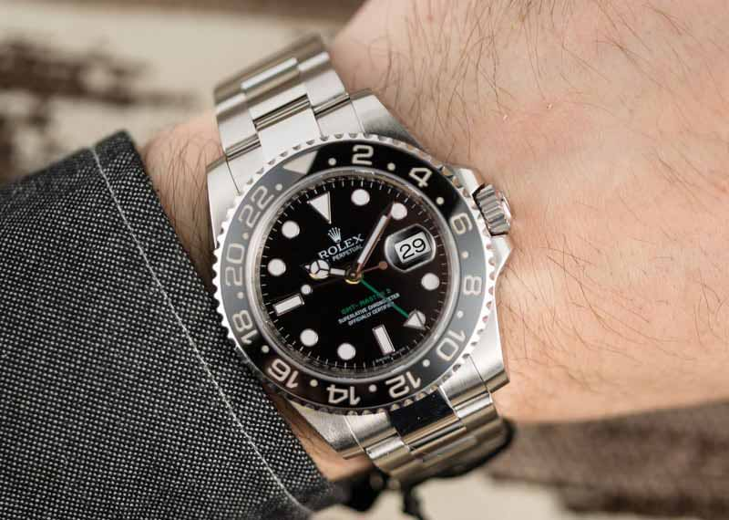 GMT Master II 116710LN