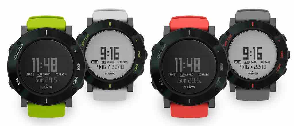 colori del suunto Core Crush