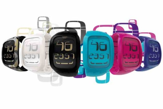 Swatch Touch: i modelli touch screen dal design giovane