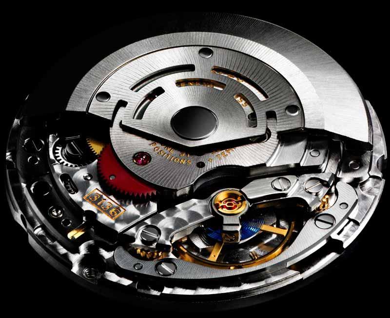 Calibro Rolex 3136