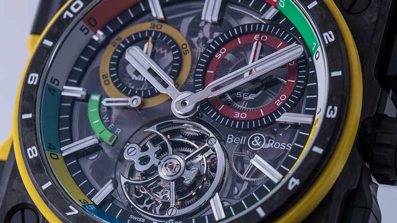 quadrante colorato Bell & Ross BR-X1 RS17