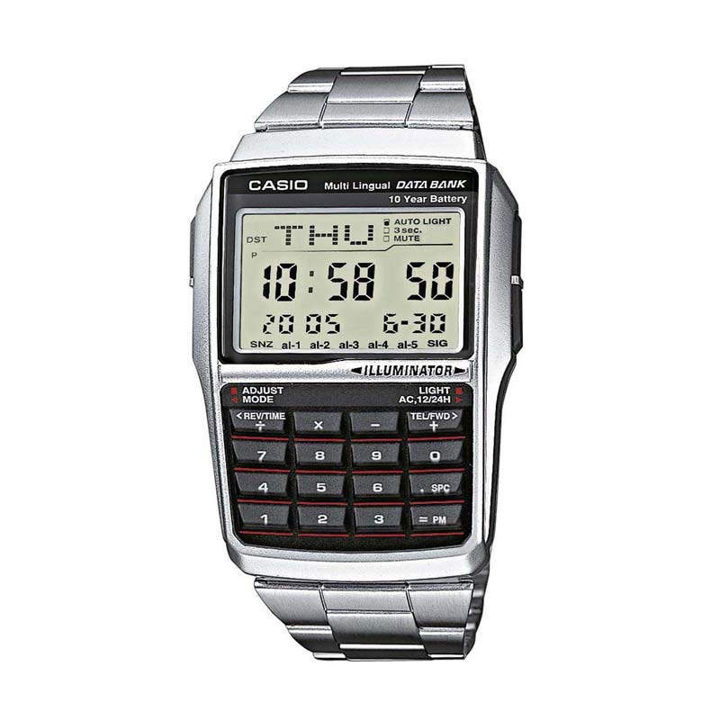 Casio Databank DBC-32D-1A in acciao