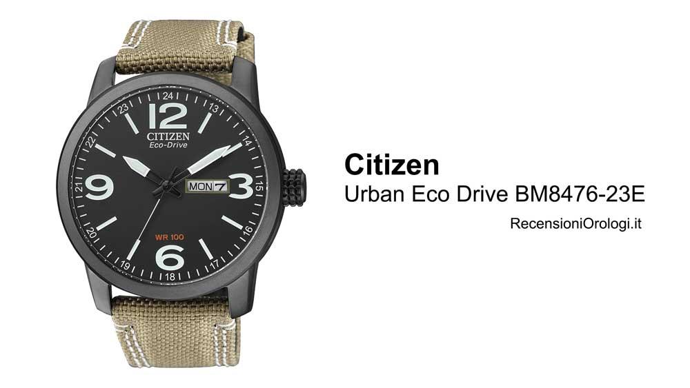 Recensione orologio da uomo Citizen Urban Eco Drive BM8476-23E