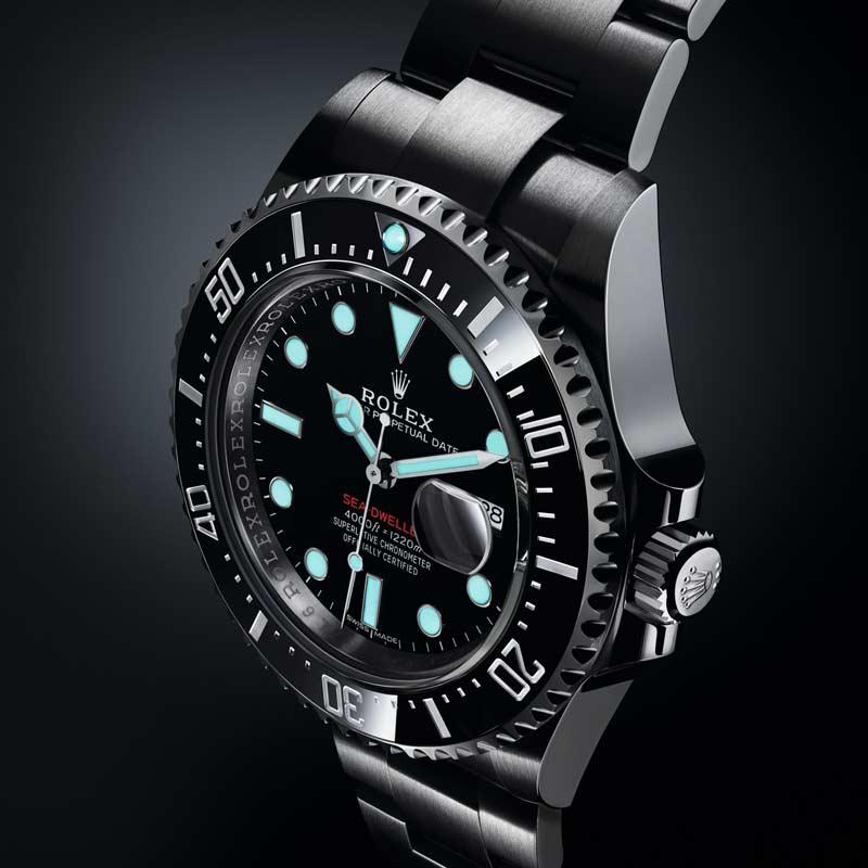 Rolex Sea-Dweller 126600 SCRITTA ROSSA