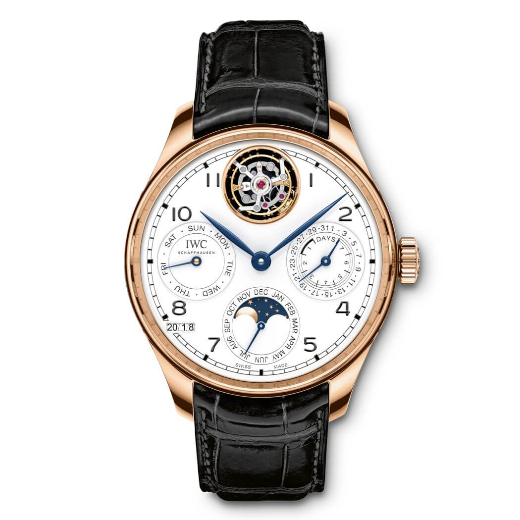 "IWC PORTOGHESE PERPETUAL CALENDAR TOURBILLON EDITION ""150 YEARS"""