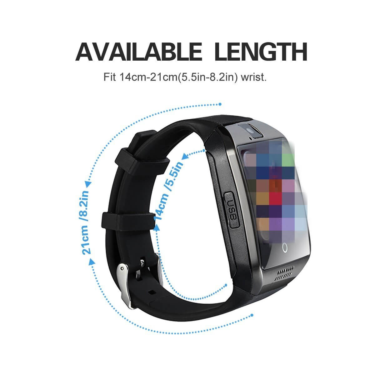 Smartwatch economico Fotowelt Q18WE