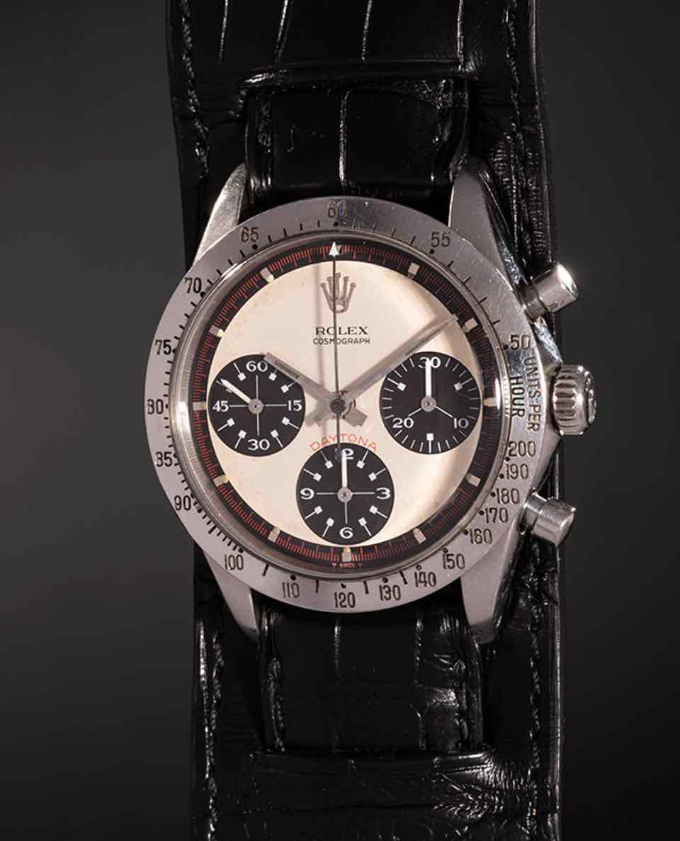 Rolex Daytona paul newman venduto all'asta per 15 Milioni di euro