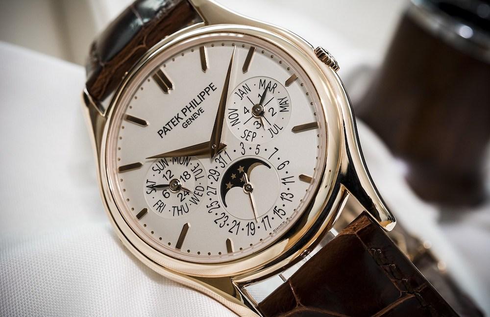 The Patek Philippe Perpetual Calendar 5140R con Fasi Lunari
